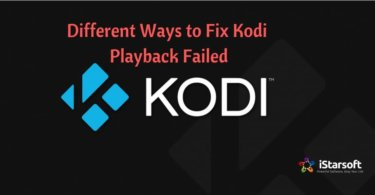 Fix Kodi Playback Failed