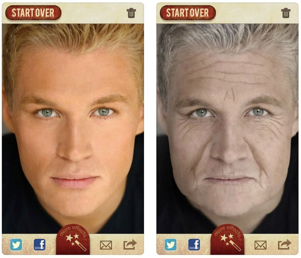 FaceApp alternatives aging booth