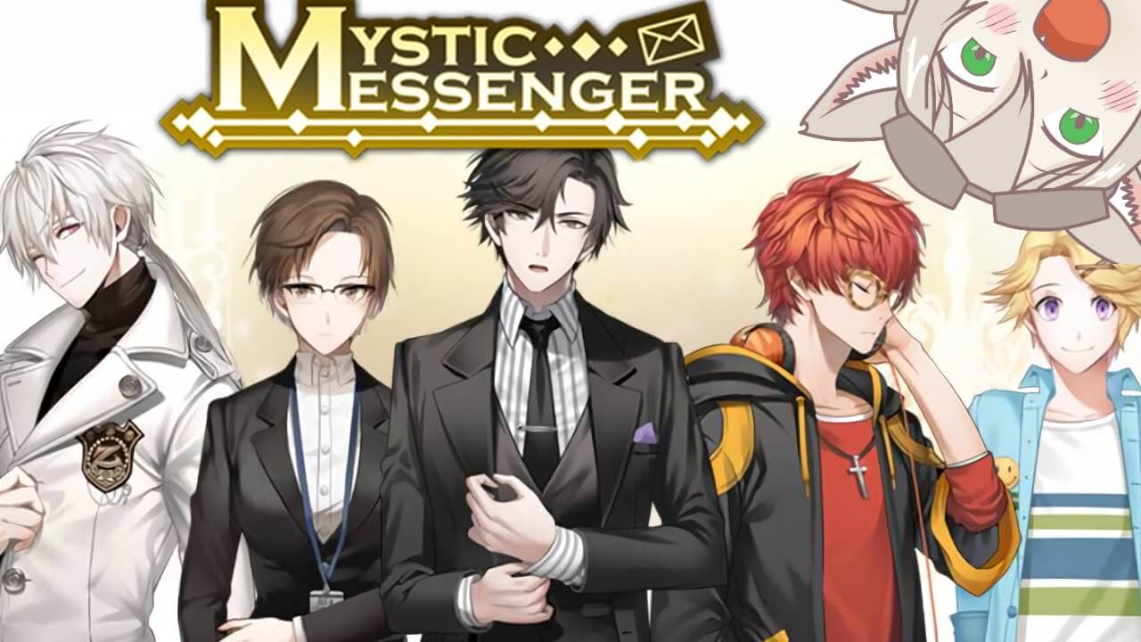 Mystic Messenger like HuniePop