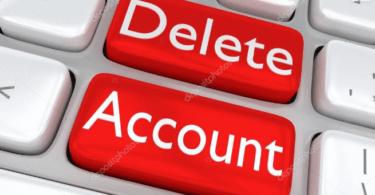 Delete dice account
