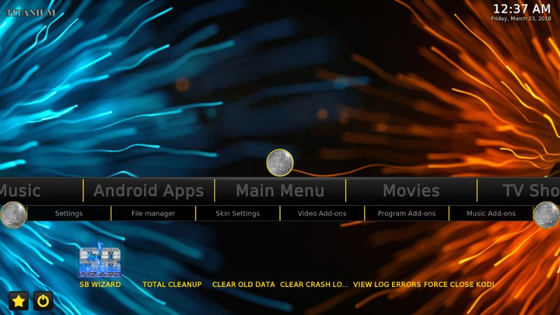 Titanium Build for kodi