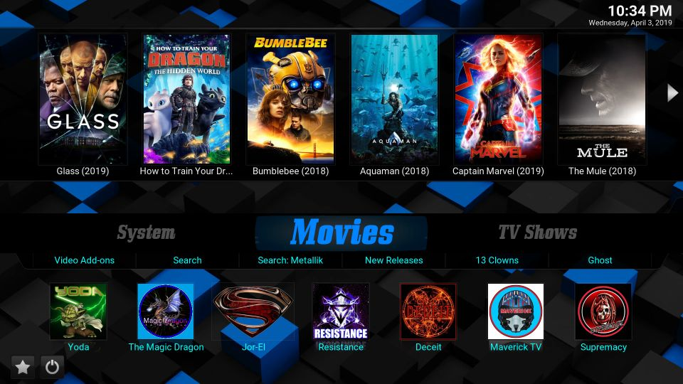 Slamious Build for kodi