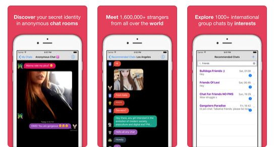 Anonymous Chat Alternatives to Whisper