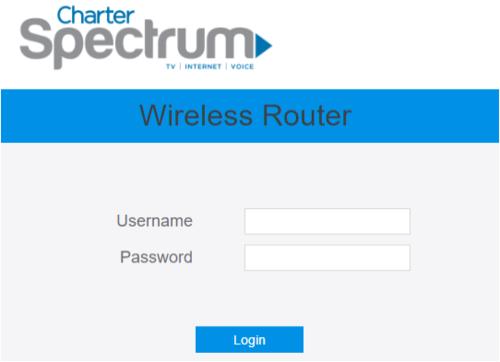 Charter Spectrum Router [Login, Default Password, IP]