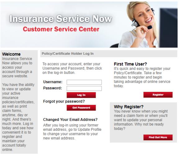 Insuranceservicenow.com[Login, Customer Support, Contact]