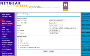 Netgear Genie Wizard: Change Username And Password