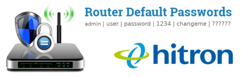 Hitron Router Login [Settings, Default IP, Password]