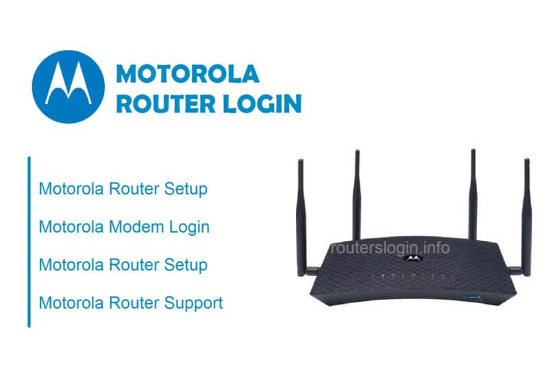 Motorola Router login setup ip password
