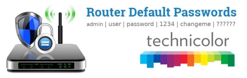 Technicolor Router [Login, Setup, Reset]