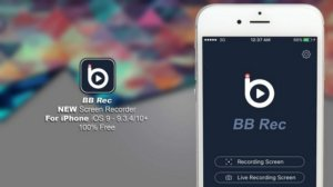 Download and install BB Rec Screen Recorder on your iOS device