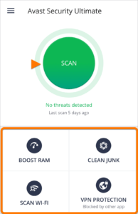 Avast Security and Photo Vault