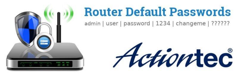 Actiontec Router [Login, Setup, Reset, Defaults]