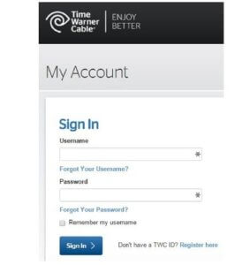How to change the default login details for Time Warner router