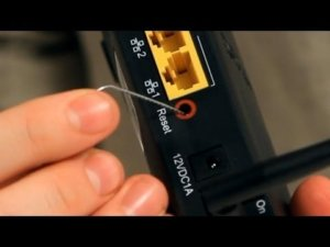 How to reset a Uverse Router