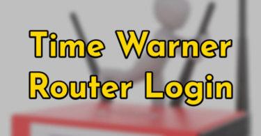 Time Warner Router [Login, Setup, Reset, Defaults]