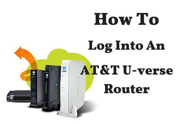 U-Verse Router [Login, Setup, Reset, Defaults]