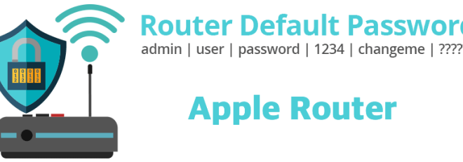 Apple Router [Login, Setup, Reset, Defaults]
