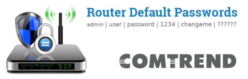 Comtrend router [Login, Setup, Reset, Defaults]