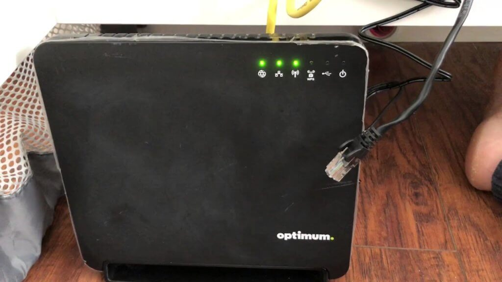 How to setup an Optimum router