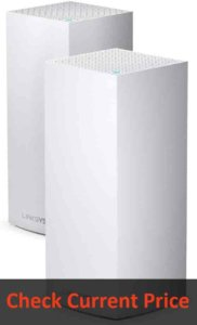 Linksys Velop WiFi 6 Mesh Router: Best Mesh Router (2-pack, White)
