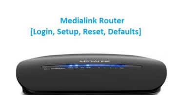 Medialink Router [Login, Setup, Reset, Defaults]