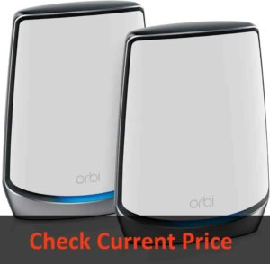 NETGEAR Orbi Whole Home Tri-Band Mesh WiFi 6 System (RBK852): Best Mesh Streaming