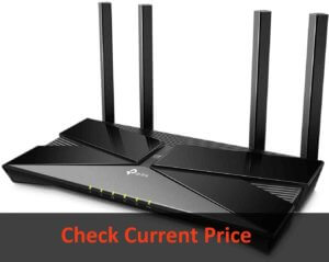 TP-Link wifi 6 AX3000 Smart wifi Router: Best Gaming Under 150