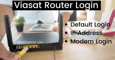 Viasat router [Login, Setup, Reset, Defaults]