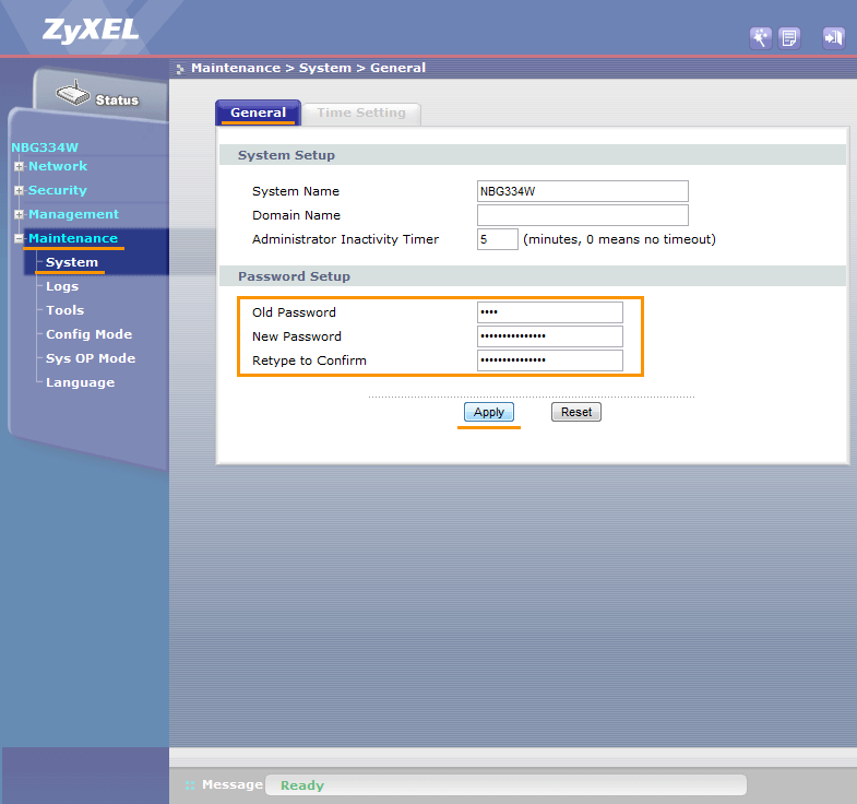 Zyxel Router Default Username and Password: How to Change
