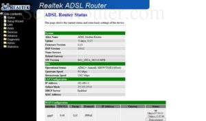 How to login to a Realtek Router