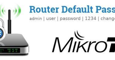 Mikrotik Router [Login, Setup, Reset, Defaults]