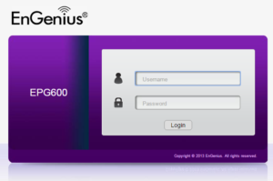 How to login to an Engenius router