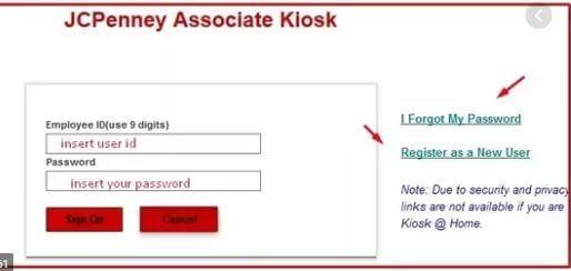 How to Reset Your JCP Associate Kiosk Login Password.
