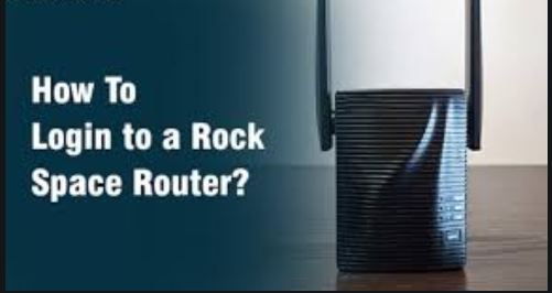 How to login to a Rock Space router.