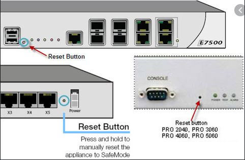 How to reset your Sonicwall router