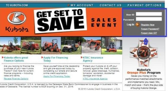 How to Access your Kubota Credit Account