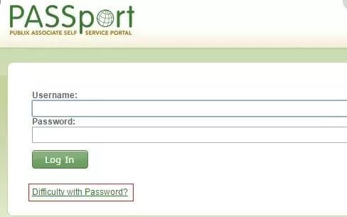 How to Reset Publix Passport Password