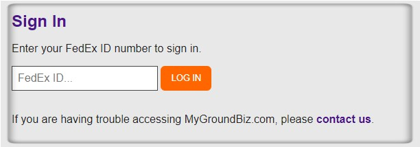 MyGroundBiz Sign-Up Process