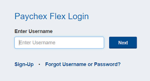 Paychex Flex Login Process