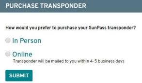 Sunpass Sign up Process