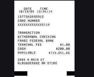 1. Cash Receipt