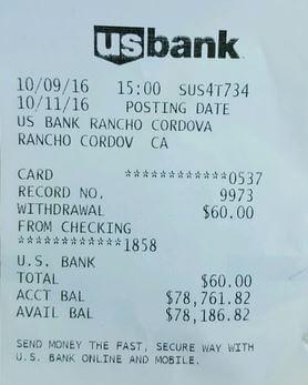 6. Fake ATM Receipt Generator