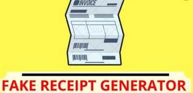 5. Fakereceipt