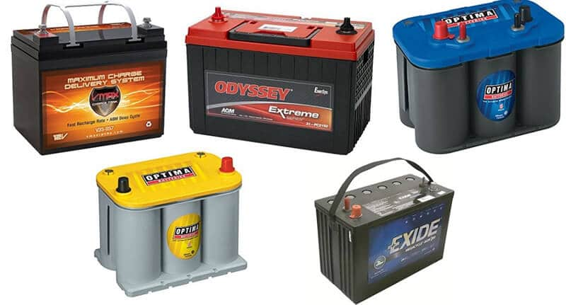 Batteries for Camping